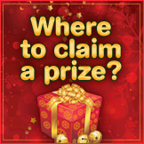 Where to claim our prizes?