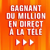 Gagnant d'un million en direct � la t�l�