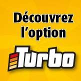 D�couvrez l'option Turbo