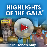 Highlights of the gala