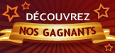 Nos gagnants