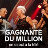 Gagnante du million en direct � la t�l�