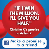 Make a promise to a friend