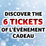 Discover the 6 �V�NEMENT CADEAU scratch tickets