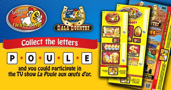 La Poule aux oeufs dor - Letters to be collected