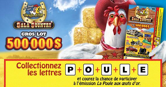 La Poule aux oeufs dor gala country