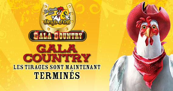 La Poule aux oeufs d'or gala country