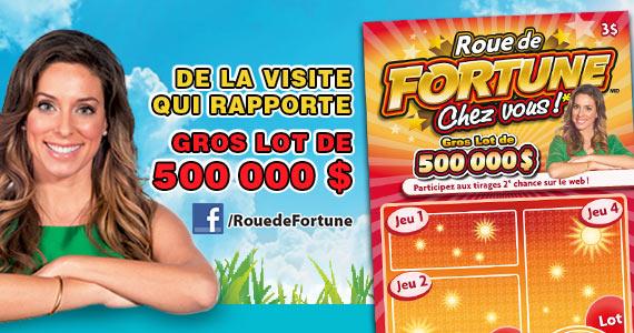 Roue de fortune chez vous!*