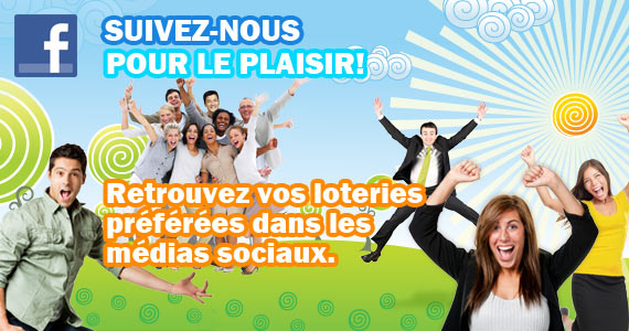 Suivez-nous sur Facebook pour le plaisir!