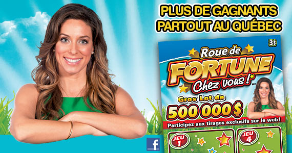 Roue de fortune chez vous!